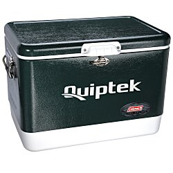 View a larger, more detailed picture of the Coleman 54-Quart Classic Steel Belted Cooler