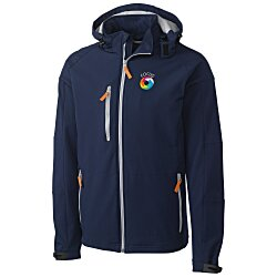 View a larger, more detailed picture of the Clique Tulsa Hooded Bonded Soft Shell - Men s