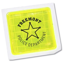 View a larger, more detailed picture of the Reflective Sticker - Square - 1-1 2 x 1-1 2