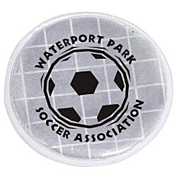 View a larger, more detailed picture of the Reflective Sticker - Round - 1-1 2