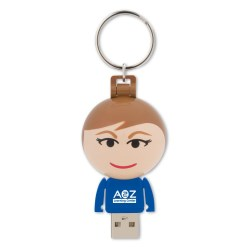 View a larger, more detailed picture of the Ball USB People - 4GB - Female
