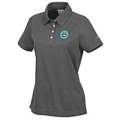 View a larger, more detailed picture of the Nike Performance Pebble Texture Polo - Ladies