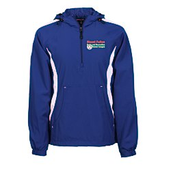 View a larger, more detailed picture of the Colorblock Hooded Jacket - Men s