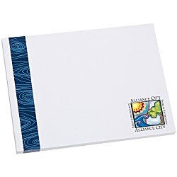 View a larger, more detailed picture of the Bic Sticky Note - Designer - 3x4 - Modern Grain - 50 Sheet