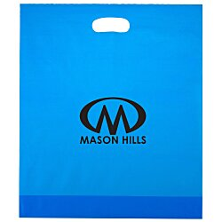 View a larger, more detailed picture of the Colored Frosted Die-Cut Convention Bag 18 x 15
