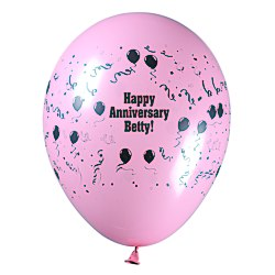 View a larger, more detailed picture of the Balloon - 11 Standard Colors - Confetti