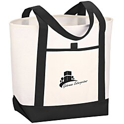 View a larger, more detailed picture of the Set Sail Boat Tote - 24 hr
