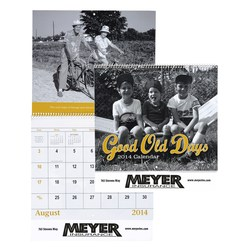 View a larger, more detailed picture of the Good Old Days Calendar - Spiral