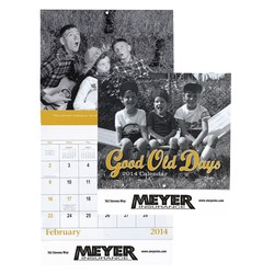 View a larger, more detailed picture of the Good Old Days Calendar - Stapled