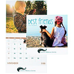 View a larger, more detailed picture of the Best Friends Calendar- Stapled