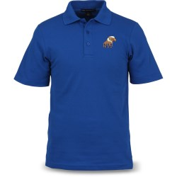 View a larger, more detailed picture of the Port Authority Textured Polo with Wicking - Men s