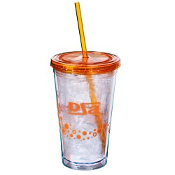 View a larger, more detailed picture of the Dotty Color Scheme Spirit Tumbler - 16 oz - 24 hr