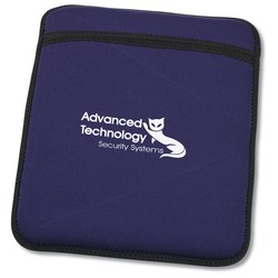 View a larger, more detailed picture of the Neoprene Tablet Sleeve and Stand - 24 hr
