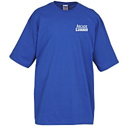 View a larger, more detailed picture of the Gildan Tall 6 1 oz Cotton T-Shirt - Men s - Colors