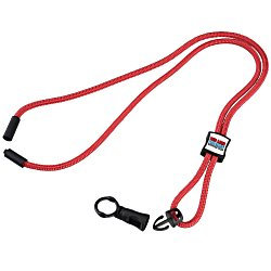 View a larger, more detailed picture of the Nylon Power Cord Lanyard - Square