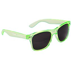 View a larger, more detailed picture of the Risky Business Sunglasses - Translucent - 24 hr