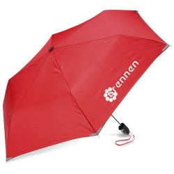 View a larger, more detailed picture of the Compact Walk Safe Umbrella - 40 Arc - Overstock