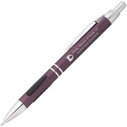 View a larger, more detailed picture of the Vienna Metal Pen - Brushed Finish - 24 hr