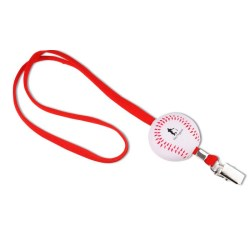 View a larger, more detailed picture of the Sport Foam w Lanyard - Baseball - Closeouts