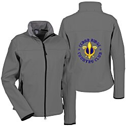 View a larger, more detailed picture of the Port Authority Soft Shell Jacket - Ladies - Back Emb
