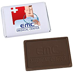 View a larger, more detailed picture of the Molded Chocolate Bar - 1 oz