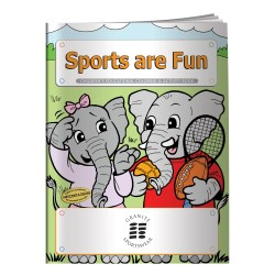 View a larger, more detailed picture of the Sports are Fun Coloring Book - Overstock