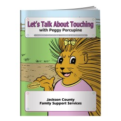 View a larger, more detailed picture of the Let s Talk About Touching Coloring Book -Overstock