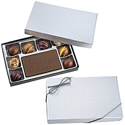 View a larger, more detailed picture of the Truffles & Chocolate Bar - 8 Pieces