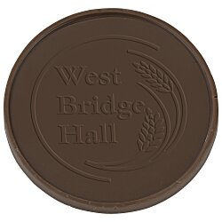 View a larger, more detailed picture of the Chocolate Treat - 1 oz - Round