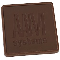 View a larger, more detailed picture of the Chocolate Treat - 1 oz - Square