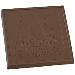 View a larger, more detailed picture of the Chocolate Treat - 5 oz - Square