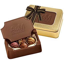 View a larger, more detailed picture of the Chocolate Box with Truffles - Small