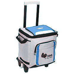 View a larger, more detailed picture of the Arctic Zone IceCOLD 50-Can Collapsible Rolling Cooler