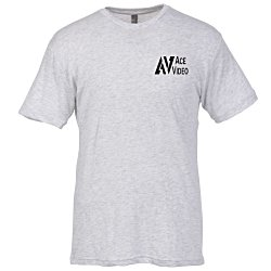View a larger, more detailed picture of the Next Level Tri-Blend Crew T-Shirt - Men s - White