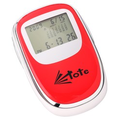 View a larger, more detailed picture of the Push-n-Slide Travel Alarm Calculator - Closeout