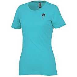 View a larger, more detailed picture of the Next Level Tri-Blend Crew T-Shirt - Ladies - Colors