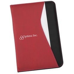 View a larger, more detailed picture of the Swerve Matte Laminate Jr Padfolio - Closeout