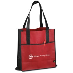 View a larger, more detailed picture of the Foldable Carry-All Tote - Closeout