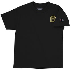 View a larger, more detailed picture of the Champion Tagless T-Shirt - Youth - Colors
