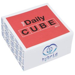 View a larger, more detailed picture of the Daily Cube Calendar