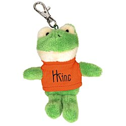 View a larger, more detailed picture of the Wild Bunch Key Tag - Frog- 24 hr