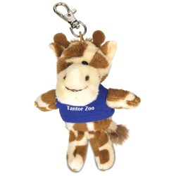 View a larger, more detailed picture of the Wild Bunch Key Tag - Giraffe - 24 hr