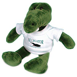 View a larger, more detailed picture of the Mascot Beanie Animal - Alligator - 24 hr