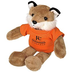 View a larger, more detailed picture of the Mascot Beanie Animal - Fox- 24 hr