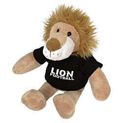View a larger, more detailed picture of the Mascot Beanie Animal - Lion - 24 hr