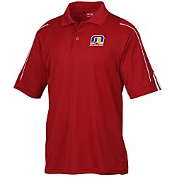View a larger, more detailed picture of the Adidas Climalite 3-Stripes Cuff Polo - Men s