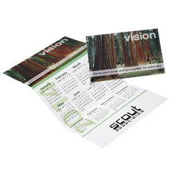 View a larger, more detailed picture of the Z-Fold Calendar - Motivational-Vision
