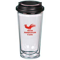 View a larger, more detailed picture of the Clearly Different Travel Tumbler - 16 oz