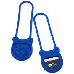 View a larger, more detailed picture of the Silicone Luggage Tag - Padlock