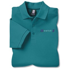 View a larger, more detailed picture of the 60 40 Blend Pique Sport Shirt - Men s - Closeout Colors